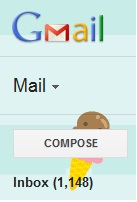 gmail inbox count