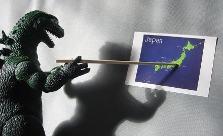 Godzilla Plans His Attack