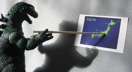 Godzilla Plans His Attack